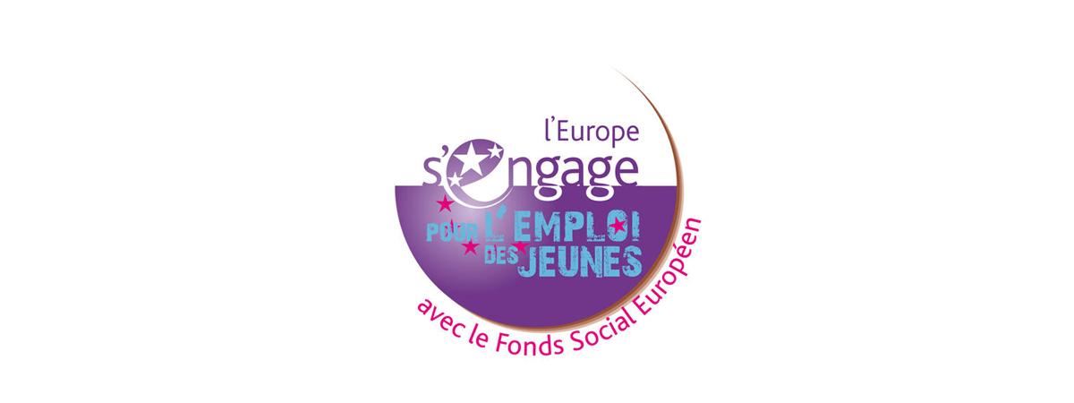 L'Europe s'engage pour l'emploi des jeunes avec le Fonds social européen.
