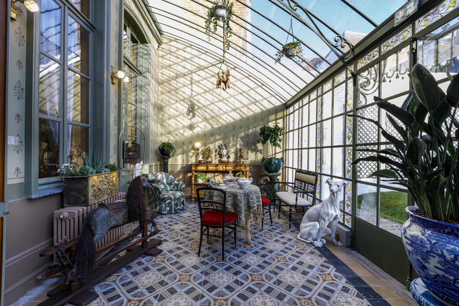 Le jardin d'hiver rénové de la Maison natale Charles de Gaulle à Lille
