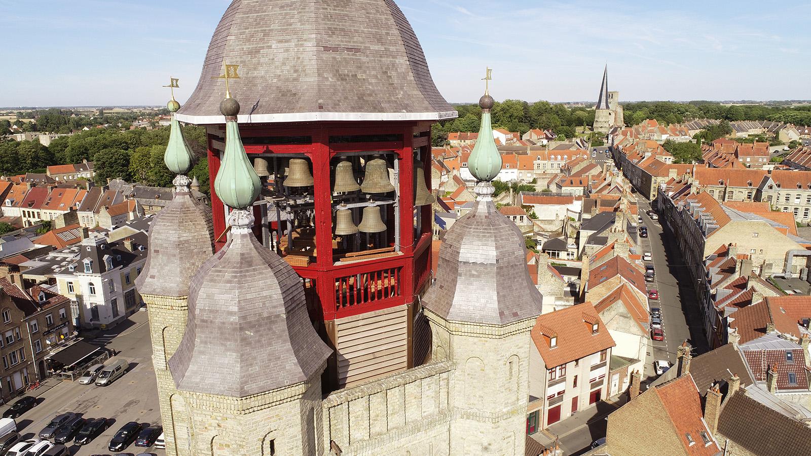 Le beffroi de Bergues, en Flandre